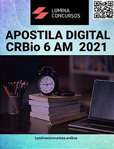 Apostila CRBio 6 AM 2021 Assistente Administrativo