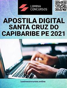 Apostila CÂMARA DE SANTA CRUZ DO CAPIBARIBE PE 2021 Guarda Legislativo