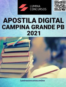 Apostila PREFEITURA DE CAMPINA GRANDE PB 2021 Professor Educação Básica 3 Matemática