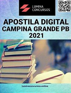 Apostila PREFEITURA DE CAMPINA GRANDE PB 2021 Professor Educação Básica 3 Língua Portuguesa