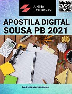 Apostila PREFEITURA DE SOUSA PB 2021 Professor Educação Básica I