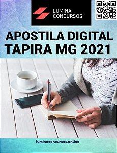 Apostila PREFEITURA DE TAPIRA MG 2021 Técnico Superior em Nutrição
