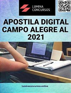 Apostila PREFEITURA DE CAMPO ALEGRE AL 2021 Agente de Controle Interno