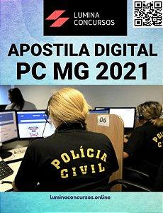 Apostila PC MG 2021 Perito Criminal Engenharia Geológica/Geologia