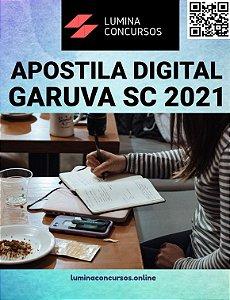 Apostila PREFEITURA DE GARUVA SC 2021 Professor de Artes