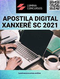 Apostila PREFEITURA DE XANXERÊ SC 2021 Fiscal de Tributos