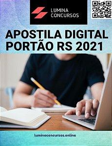 Apostila PREFEITURA DE PORTÃO RS 2021 Orientador Educacional