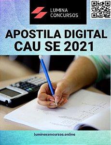 Apostila CAU SE 2021 Assistente de Atendimento