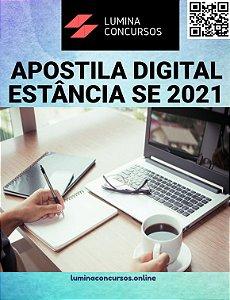 Apostila PREFEITURA DE ESTÂNCIA SE 2021 Professor de Educação Física