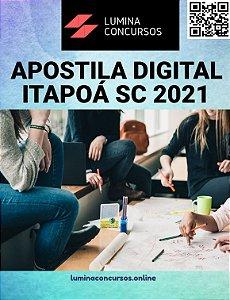 Apostila PREFEITURA DE ITAPOÁ SC 2021 Professor de Artes