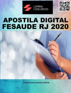 Apostila FESAUDE RJ 2020 Nutricionista