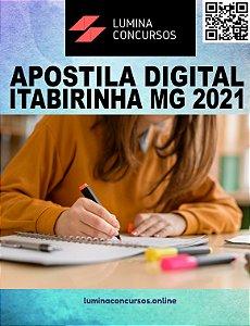 Apostila PREFEITURA DE ITABIRINHA MG 2021 Nutricionista