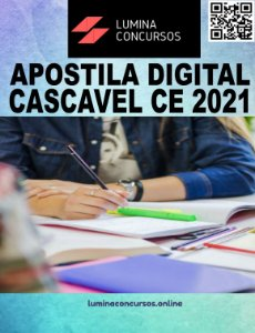 Apostila PREFEITURA DE CASCAVEL CE 2021 Agente de Apoio Escolar