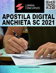 Apostila PREFEITURA DE ANCHIETA SC 2021 Professor de Artes