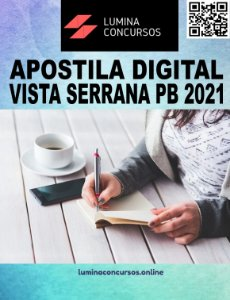 Apostila PREFEITURA DE VISTA SERRANA PB 2021 Farmacêutico