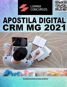 Apostila CRM MG 2021 Analista de Departamento Pessoal e Contábil