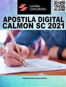 Apostila PREFEITURA DE CALMON SC 2021 Professor de Ciências
