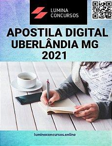 Apostila CÂMARA DE UBERLÂNDIA MG 2021 Assessor Jurídico
