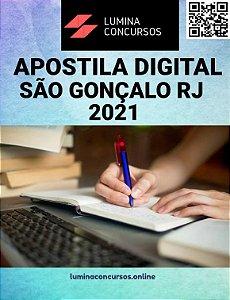 Apostila CÂMARA DE SÃO GONÇALO RJ 2021 Saúde Pública e Bem-estar Social