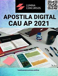 Apostila CAU AP 2021 Assistente Administrativo