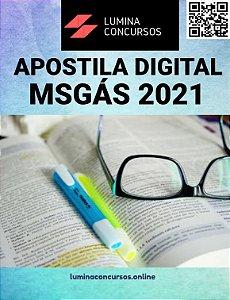 Apostila MSGÁS 2021 TPT Segurança do Trabalho