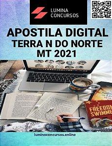 Apostila PREFEITURA DE TERRA NOVA DO NORTE MT 2021 Professor - Artes