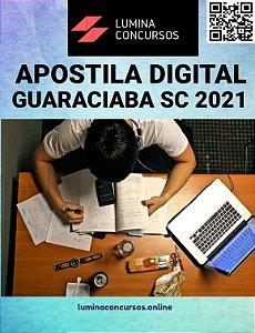 Apostila PREFEITURA DE GUARACIABA SC 2021 Professor II-N1 - Matemática