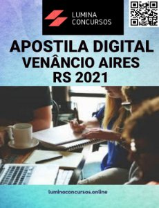 Apostila PREFEITURA DE VENÂNCIO AIRES RS 2021 Nutricionista