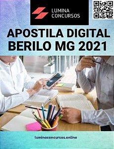 Apostila PREFEITURA DE BERILO MG 2021 Professor de Artes
