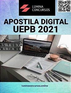 Apostila UEPB 2021 Técnico de Segurança do Trabalho