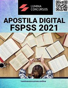 Apostila FSPSS 2021 Agente Comunitário de Saúde