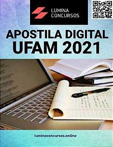 Apostila UFAM 2021 Assistente em Administração