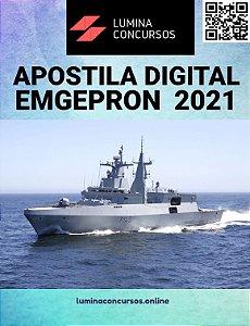 Apostila EMGEPRON 2021 Técnico de Projetos Navais - Almoxarife