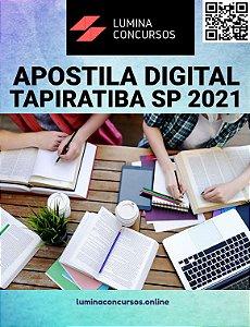 Apostila PREFEITURA DE TAPIRATIBA SP 2021 Professor de História