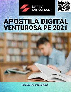 Apostila PREFEITURA DE VENTUROSA PE 2021 Psicólogo
