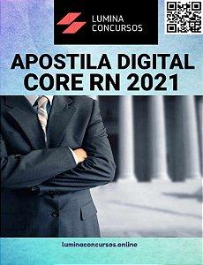 Apostila CORE RN 2021 Assistente Administrativo