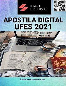 Apostila UFES 2021 Técnico em Enfermagem