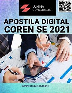 Apostila COREN SE 2021 Enfermeiro Fiscal