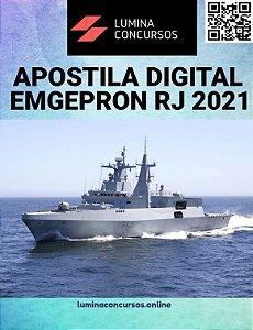 Apostila EMGEPRON RJ 2021 Técnico Tubulações