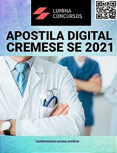 Apostila CREMESE SE 2021 Auxiliar Administrativo