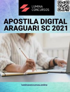 Apostila PREFEITURA DE ARAGUARI SC 2021 Professor de Inglês