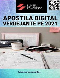 Apostila PREFEITURA DE VERDEJANTE PE 2021 Prof. H/A e EJA 3ª e 4ª Fases - Português