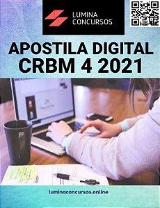 Apostila CRBM 4 2021 Assistente de Gestão