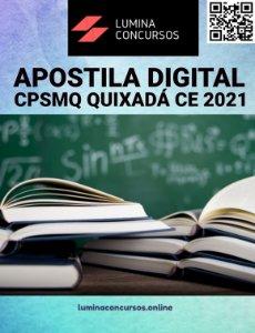 Apostila CPSMQ QUIXADÁ CE 2021 Psicólogo