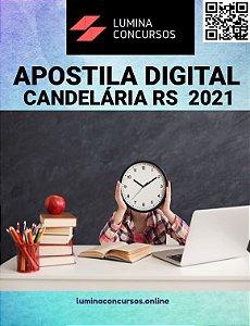 Apostila PREFEITURA DE CANDELÁRIA RS 2021 Professor de Matemática