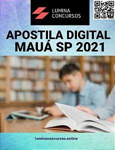 Apostila PREFEITURA DE MAUÁ SP 2021 Professor de Geografia