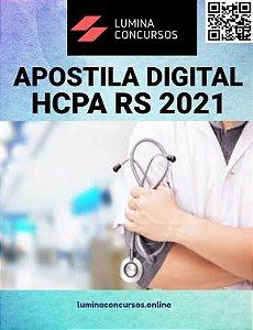 Apostila HCPA RS 2021 Psicólogo I