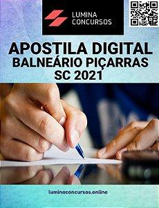 Apostila PREFEITURA DE BALNEÁRIO PIÇARRAS SC 2021 Auxiliar Administrativo