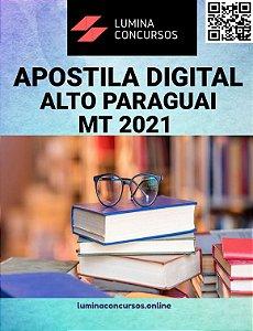 Apostila PREFEITURA DE ALTO PARAÍSO MT 2021 Psicólogo