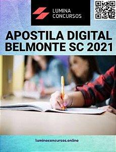Apostila CÂMARA DE BELMONTE SC 2021 Controle Interno